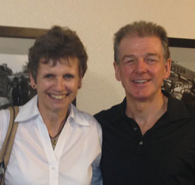 Chris and Denise Arthey
