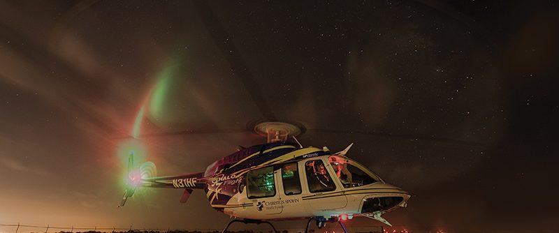 Halo Flight Night Take Off by David Olds