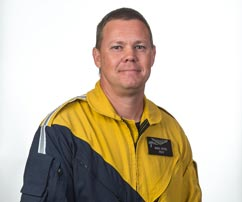 Mark Ritter, Chief Pilot